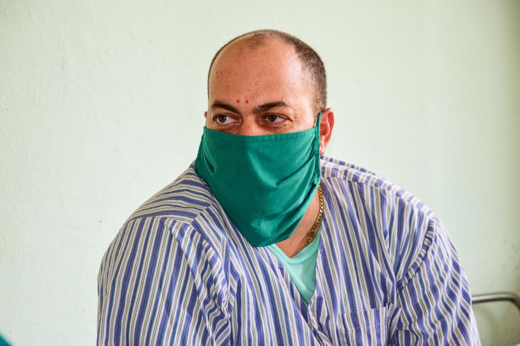 Juan Carlos Cruz Echevarría, paciente.