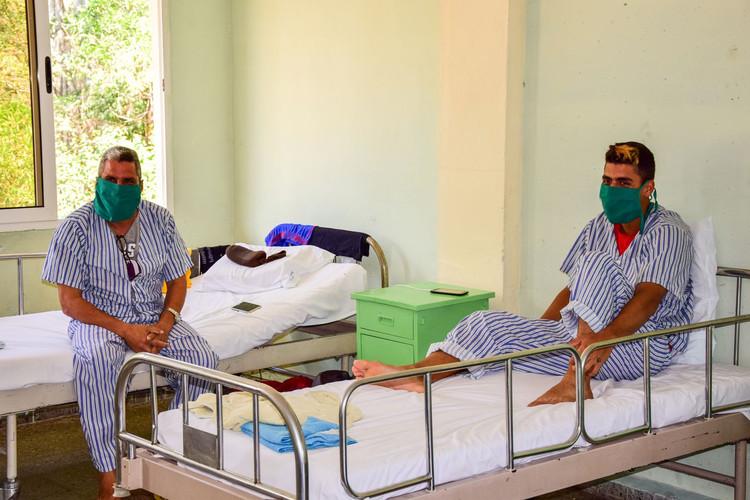 Los pacientes refieren la calidad de los servicios de salud del centro de aislamiento.