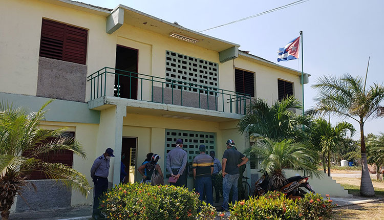 Centro de aislamiento en Herradura / Foto: Pedro Lázaro Rodríguez Gil