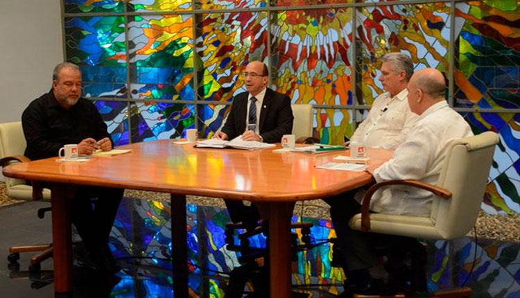 Miguel Díaz-Canel Bermúdez, Presidente de la República de Cuba en la Mesa Redonda