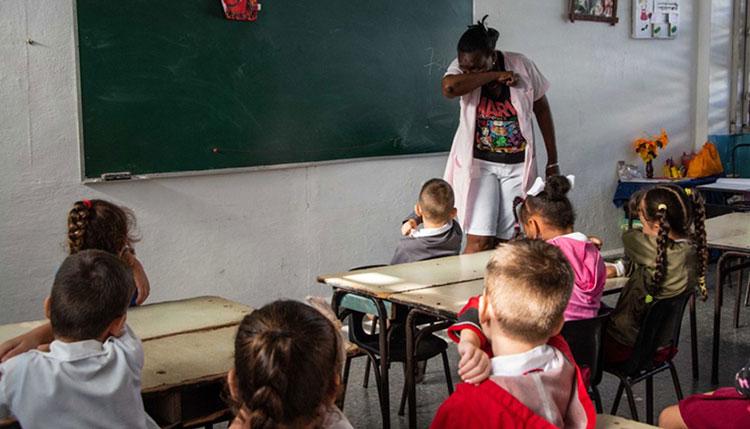 Extreman medidas higiénicas en círculos infantiles de Pinar del Río