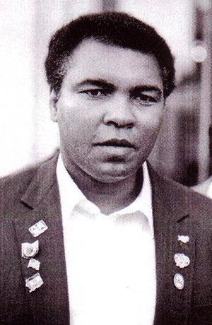 Cassius Clay en Cuba