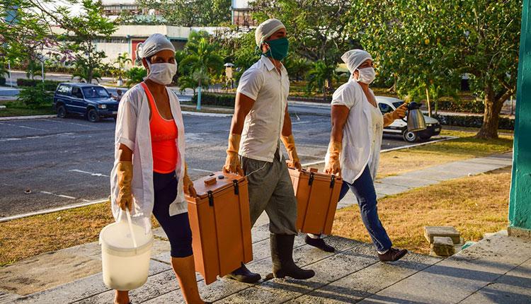 La logística estuvo garantizada para atender a los viajeros / Foto: Januar Valdés Barrios