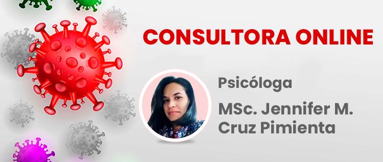 Consultora Onlline MSc Jennifer Cruz Pimienta