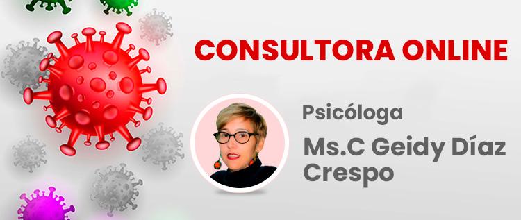 Consultora Online: Geidy Diaz Crespo