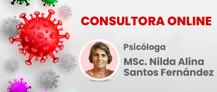 Consultora online MSc. Nilda Alina Santos Fernández