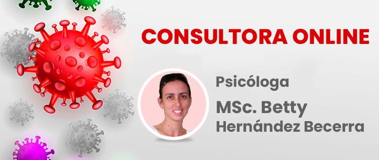 Consultora online MSc. Betty Hernandez Becerra