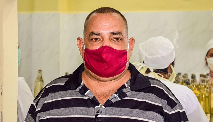 Jesús Alberto Moreno Mergarejo, Jefe de la unidad base La Occidental Guayabita del Pinar