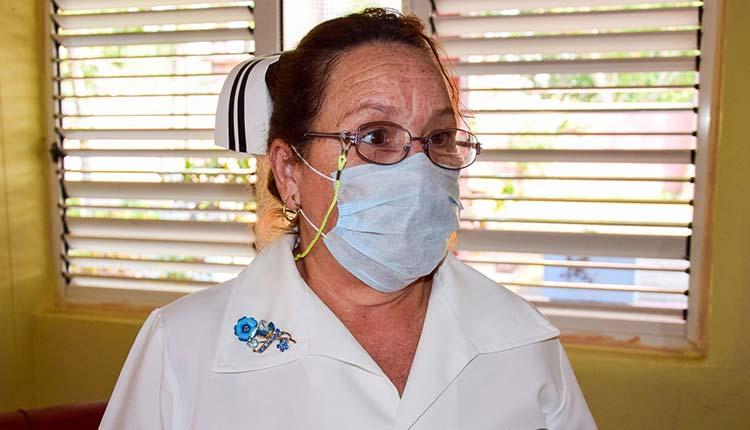 Licenciada Ileana Rosa Hernández Pérez, jefa de enfermeras / Foto: Januar Valdés Barrios