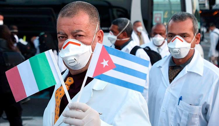 Nobel Peace Prize for Cuban medical contingent requested in Italy