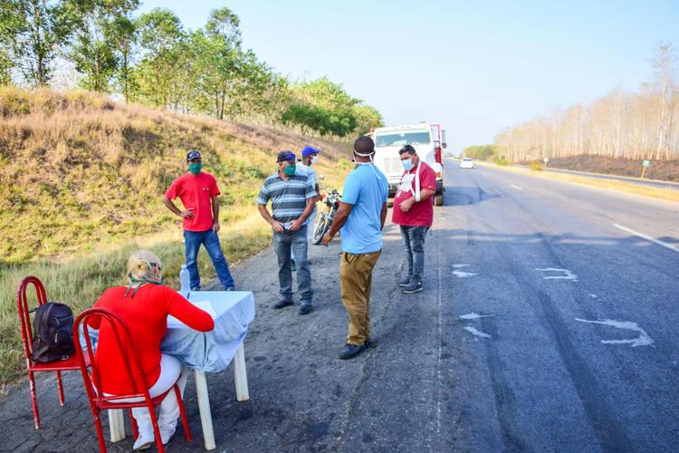 Medidas tomadas en la Comunidad Camilo Cienfuegos en Consolación del Sur