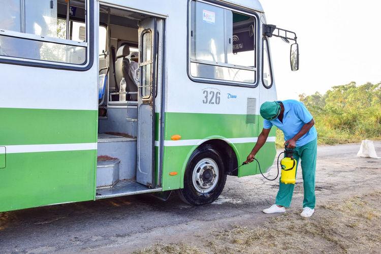 Medidas de saneamiento tomadas en la comunidad Camilo Cienfuegos
