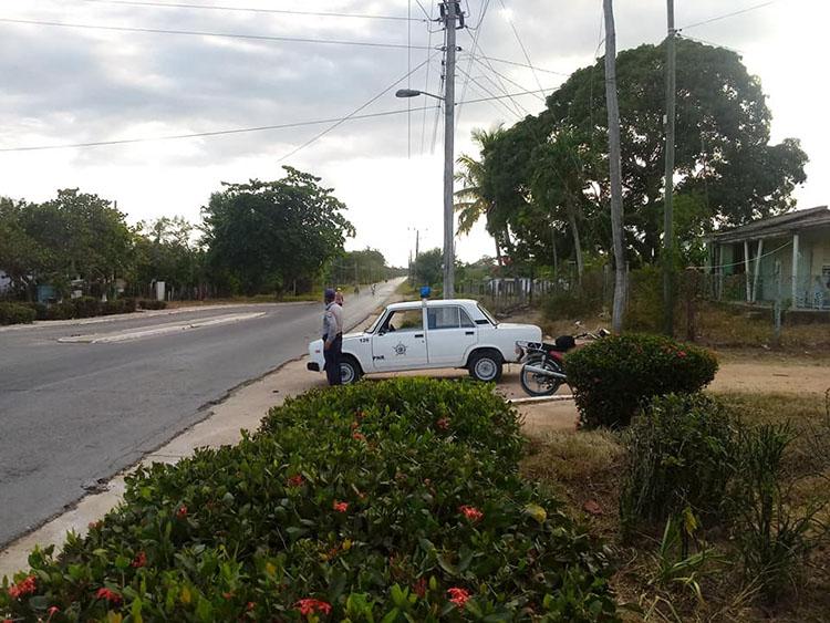 Punto de Control en la Ceiba, Guane