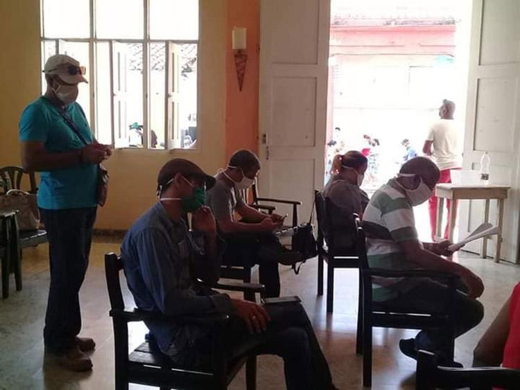 Reunión con la Dirección Provincial de Cultura de Pinar del Río