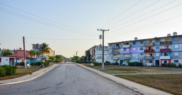 Saneamiento en comunidad Camilo Cienfuegos