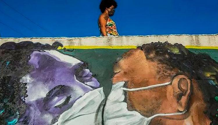 En Sao Paulo, la población negra tiene 62% más riesgo de morir por COVID-19. / Foto: Antonello Veneri AFP/.