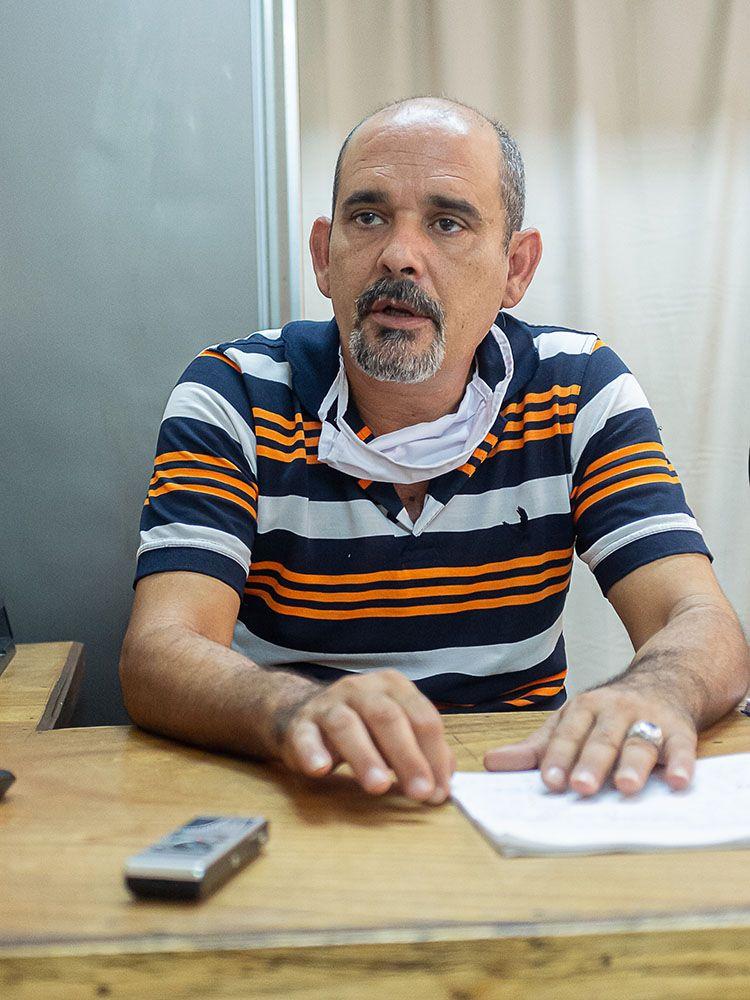 Reynel Cruz Rivero, director de la Empresa Cubana del Pan en Pinar del Río