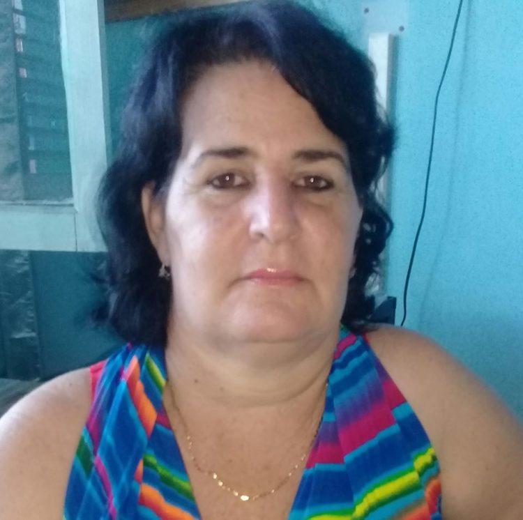 Aida Dorta Pimentel, secretaria del Comité Provincial de la Federación de Mujeres Cubanas en Pinar del Río.
