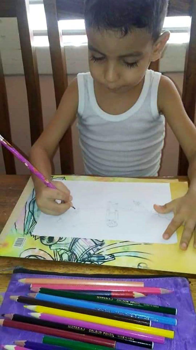 Maikol dibuja al principito