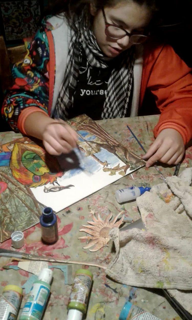 Triny, tallerista de Argentina.
