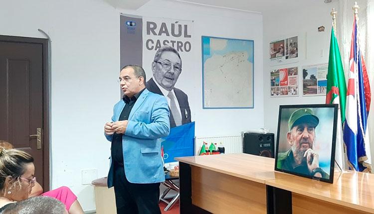Dr. Reinaldo Menéndez García. Jede la la Misión Médica Cubana en Argelia / Foto: Cortesía del entrevistado