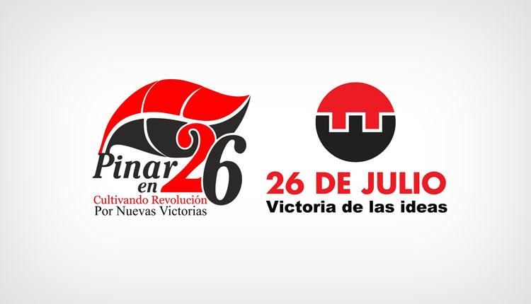 Logos del 26 de Julio