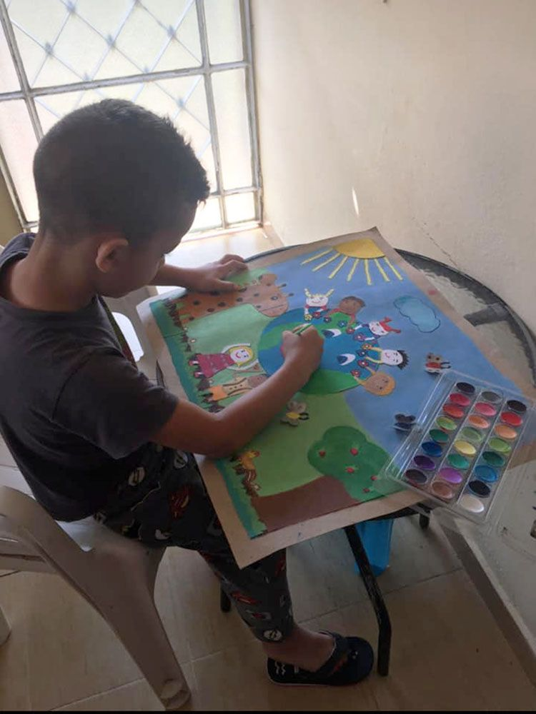 Dotar a los pequeños de habilidades artísticas y estimular su imaginación son premisas de CREARTE.