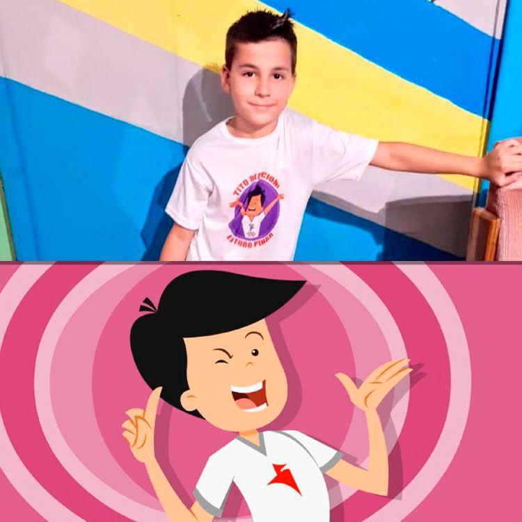 La serie dramatizada del animado Tito reacciona ha sido filmada en varios municipios pinareños y hará un tour por toda la provincia del 14 al 30 de julio