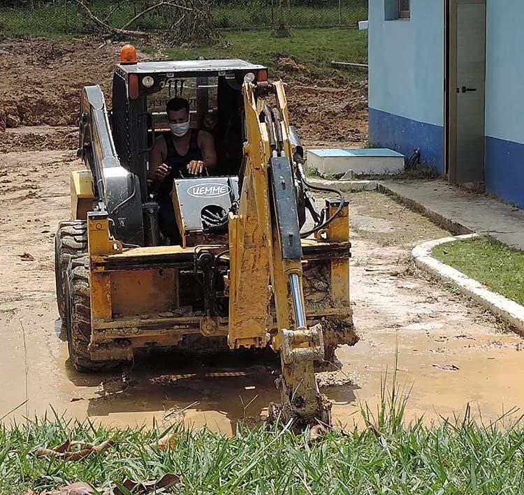 Las acciones constructivas ejecutadas en la planta potabilizadora de Viñales permiten realizar la entrega con mayor presión mejorar la calidad del agua y las condiciones para los trabajadores en las instalaciones.