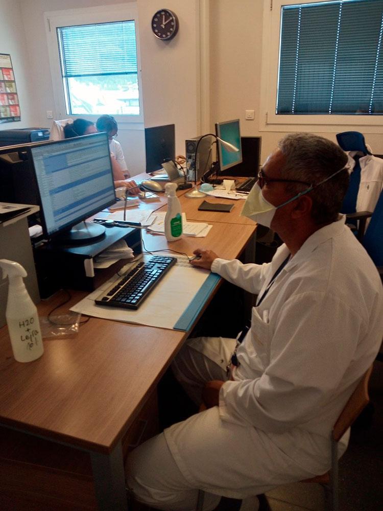 Un día de trabajo en Andorra / Foto: Cortesía del entrevistado