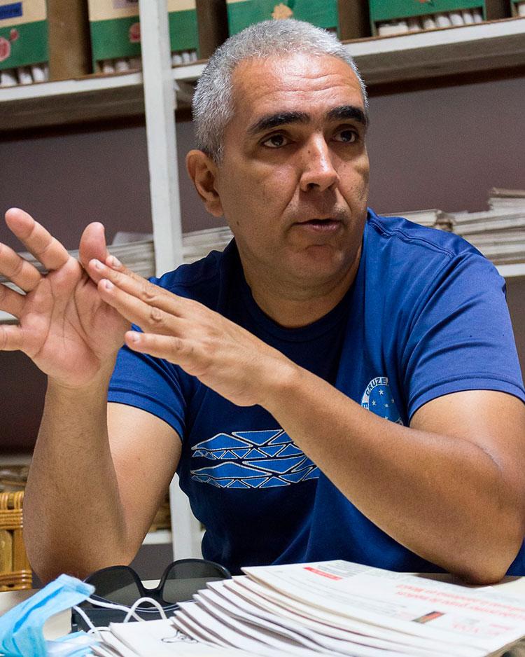Carlos Marcial Iglesias / Foto: Jaliosky Ajete Rabeiro