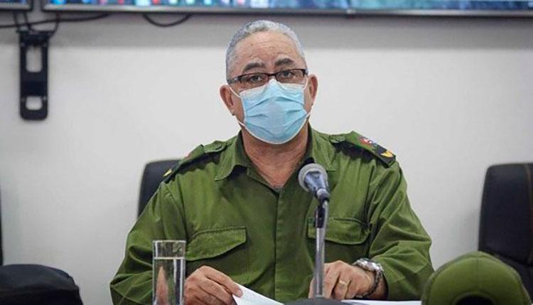 Luis Antonio Torres Iríbar, presidente del Consejo de Defensa Provincial.   / Foto: Tribuna de La Habana.