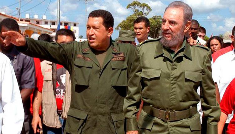 Fidel y Hugo Chávez en el recuerdo de villa Bolívar en Pinar del Río