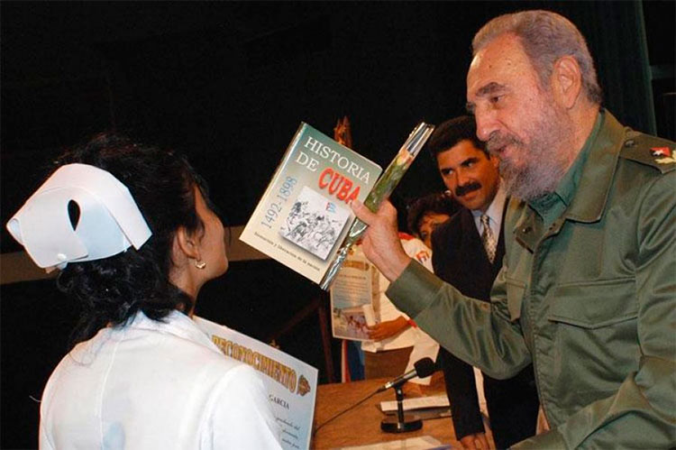Fidel y la Historia de Cuba