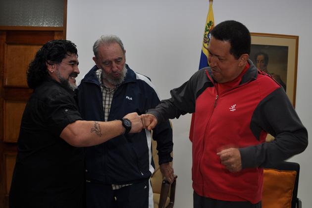 fidel chavez maradona