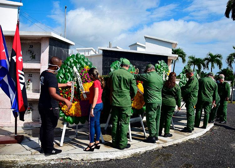 Homenaje a los mártires internacionalistas y al general Maceo en Pinar del Río