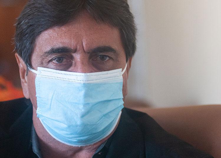 Juan Carlos Rodríguez Díaz, historiador de la ciudad. / Foto: Jaliosky Ajete