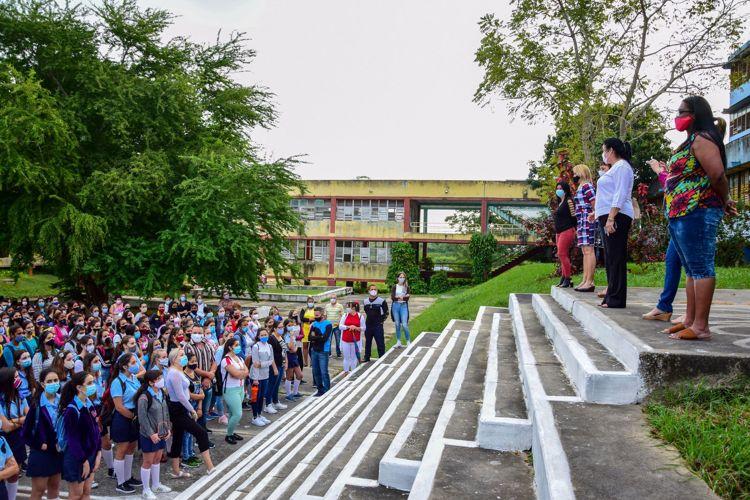 inicio del curso escolar 2021 pinar del rio 9