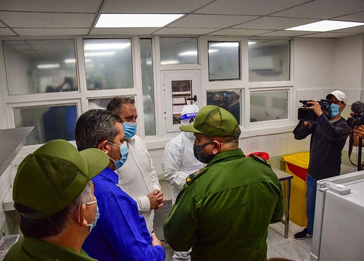 Junto al laboratorio se construyó un local para el descanso de los trabajadores. / Foto: Januar Valdés Barrios