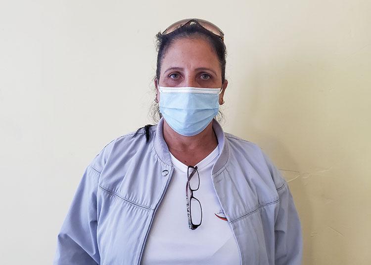 Marifeliz Ramos Travieso, especialista de cuadros