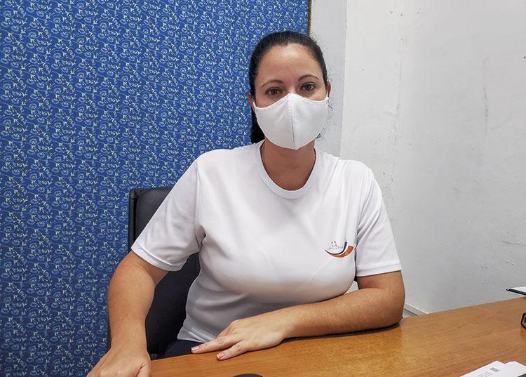 Maydelis Romero Naranjo, directora del Palacio de Computación de Pinar del Río