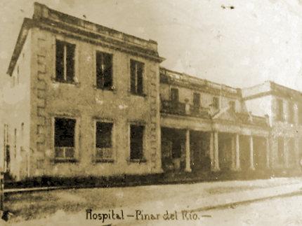 Hospital San Isidro, Pinar del Río, donde fallece Isabel Rubio.