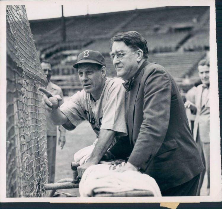 Leo Durocher y Branch Rickey en Cuba (Feb. 22, 1947)