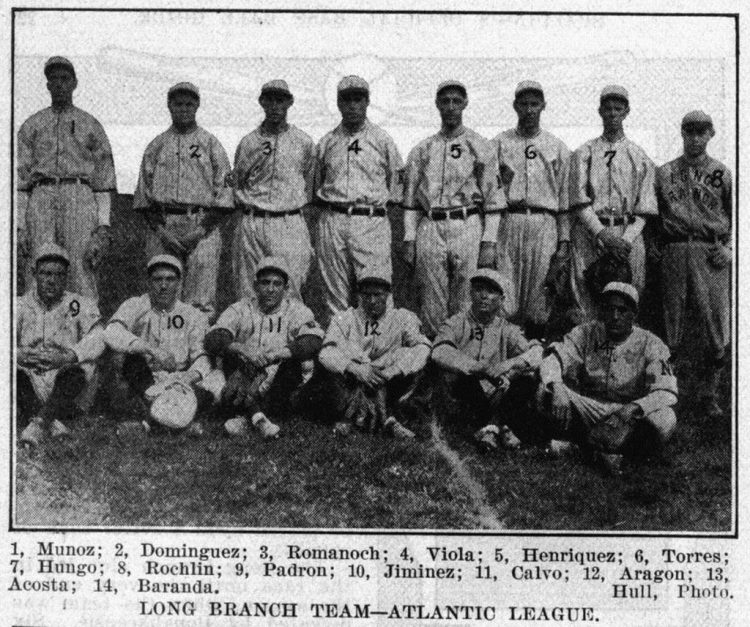 Long Branch Cubans en La Habana (1915).