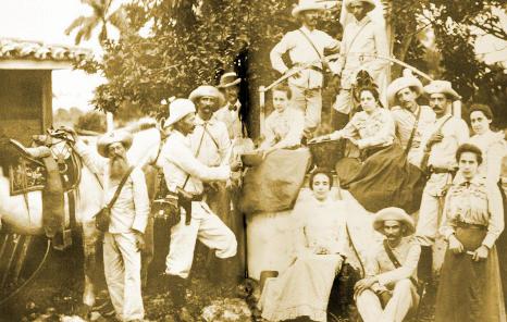 Los alzamientos independentistas de 1895.