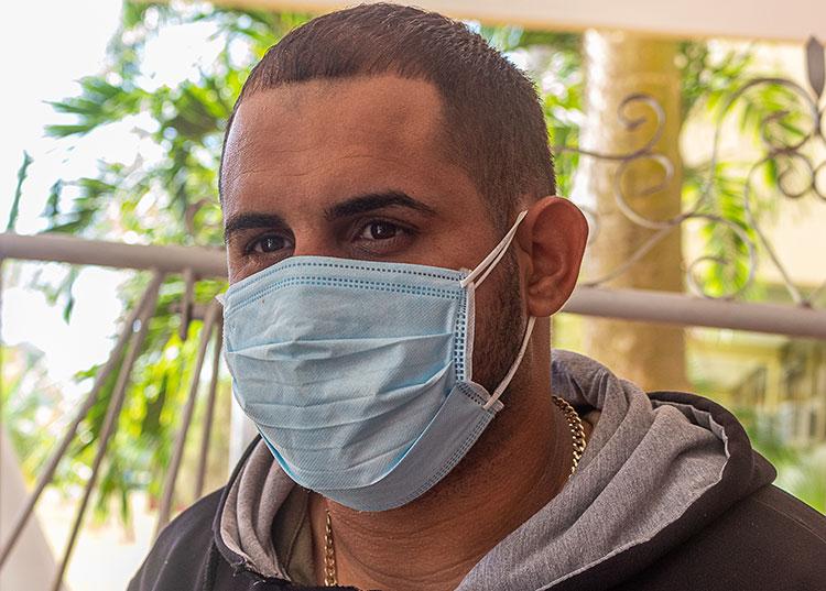 Luis Pablo Acosta. / Foto: Jaliosky Ajete Rabeiro