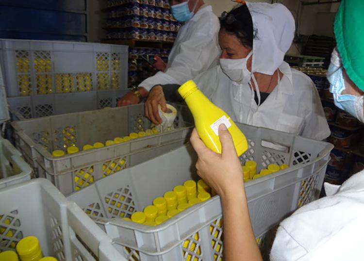 Fábrica La Conchita con variadas producciones en Pinar del Río