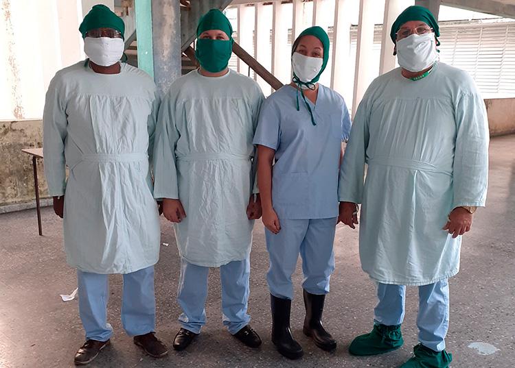 cubanos que están en zona roja de forma voluntaria
