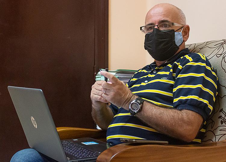 Doctor en Ciencias Jorge Ferro Díaz, investigador del Centro de Investigaciones y Servicios Ambientales Ecovida