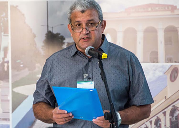 Jesús Valdés Miranda, coordinador de programas de Comunicaciones, Transporte y Energía en el Gobierno